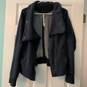 Lululemon Karmacollected hoodie in heather navy